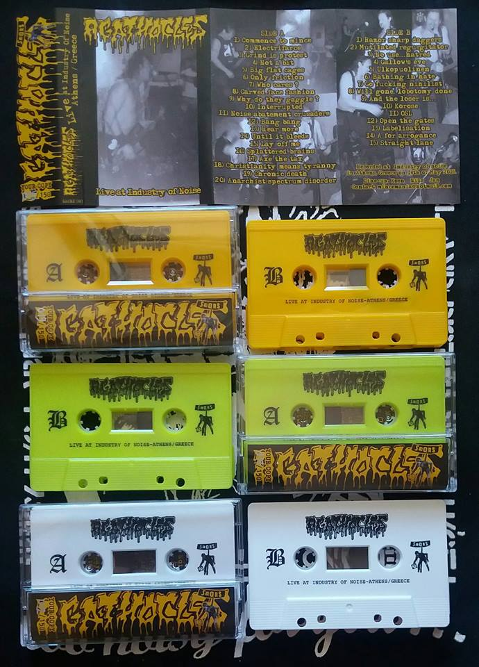 AGATHOCLES - Live at Industry of noise-Athens/Greece