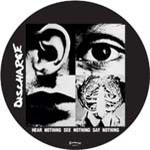 DISCHARGE - See nothing .. pic LP