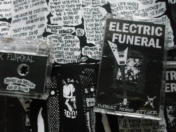 ELECTRIC FUNERAL - D-beat noise attack