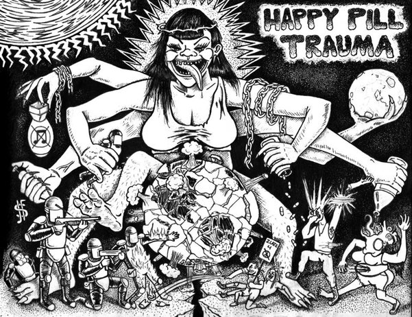 HAPPY PILL TRAUMA - World decay